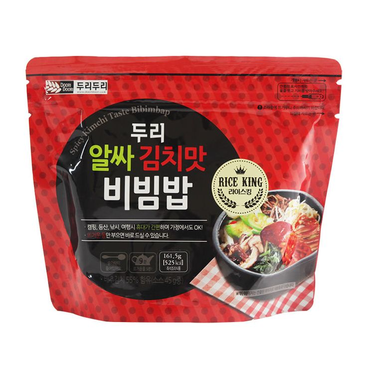 Korean food Kimchi taste bibimbap instant easy cook MRE only need hot water | Home & Garden, Food & Beverages, International Foods | eBay!