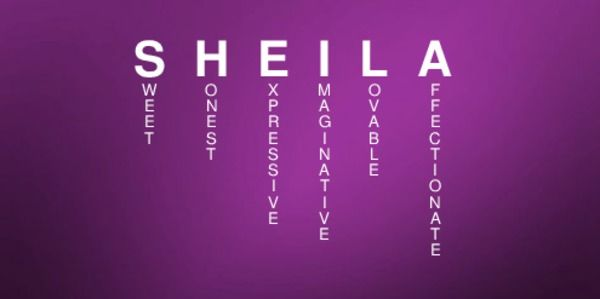 SHEILA's first name meaning
