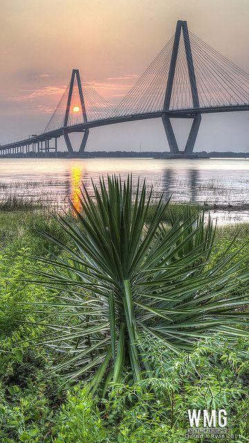 Bridge in Charleston South Carolina