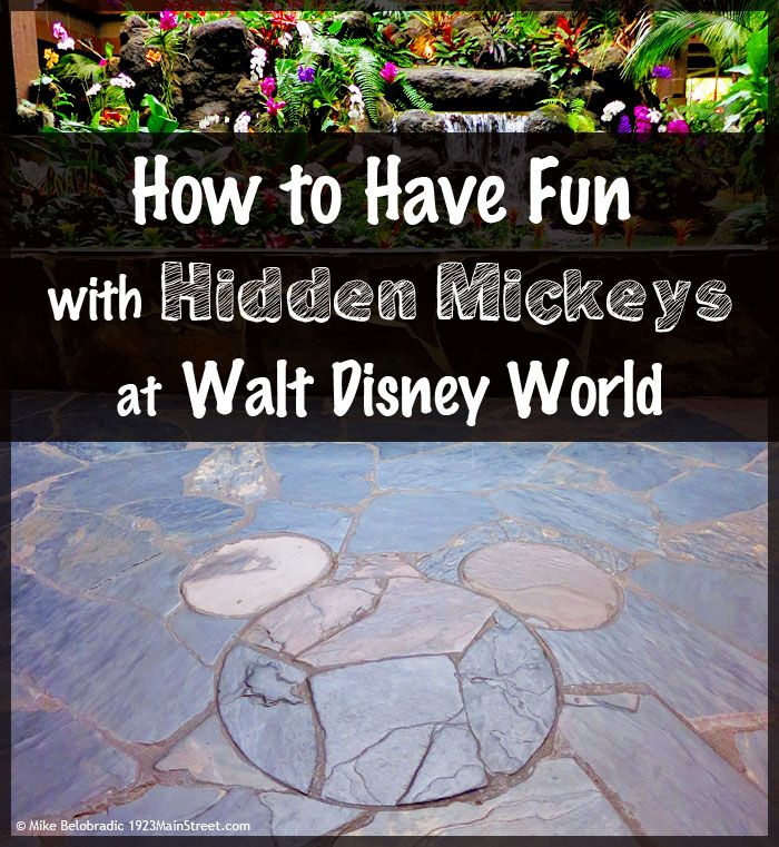 Have fun with Hidden Mickeys at Walt Disney World: Tips to get you started. https://1923mainstreet.com/blogs/news/hidden-mickeys-at-walt-disney-world-a-classic-disney-pastime