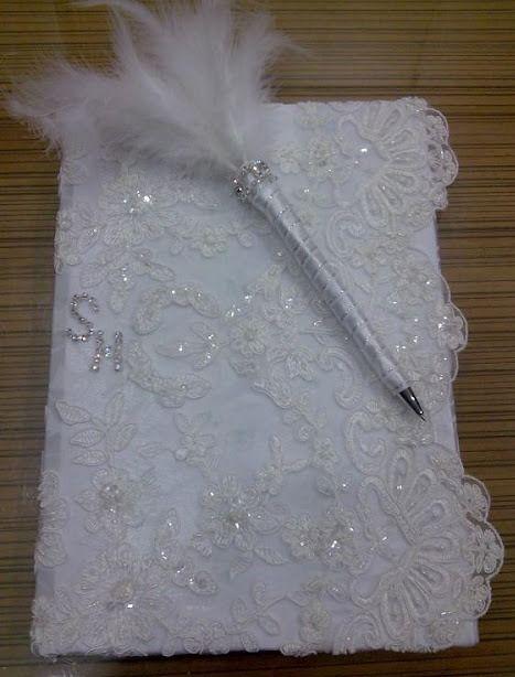 DIY: Boş Uğraşlar Müdürü - Düğün Anı Defteri ve Kalemi