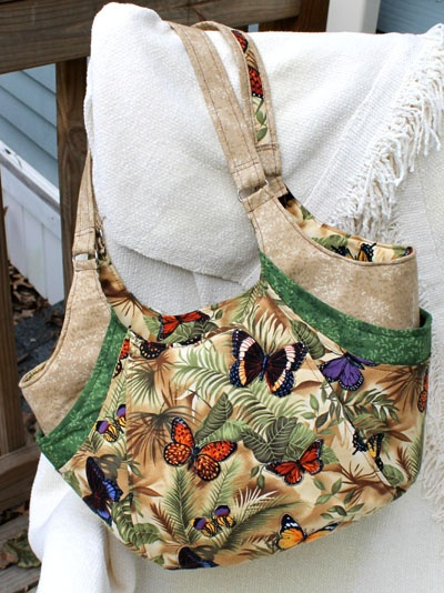"""This beautiful Quattro was the winner of our November 2012 Handbag of the Month contest!   StudioKat Designs- """"A Work in Progress"""": November 2012 Handbag of the Month"""