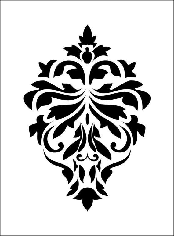 1000 id es propos de pochoir en dentelle sur pinterest parois d 39 or peintures murales et. Black Bedroom Furniture Sets. Home Design Ideas