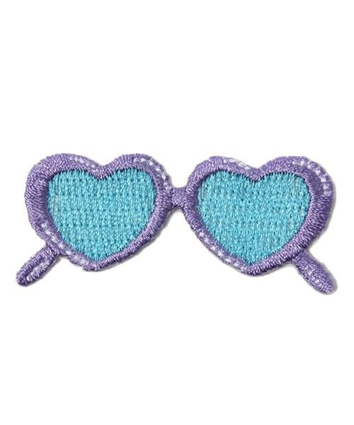 Play & choice heart sunglasses une nana cool of (Un'nanakuru) (Other accessory) | Purple