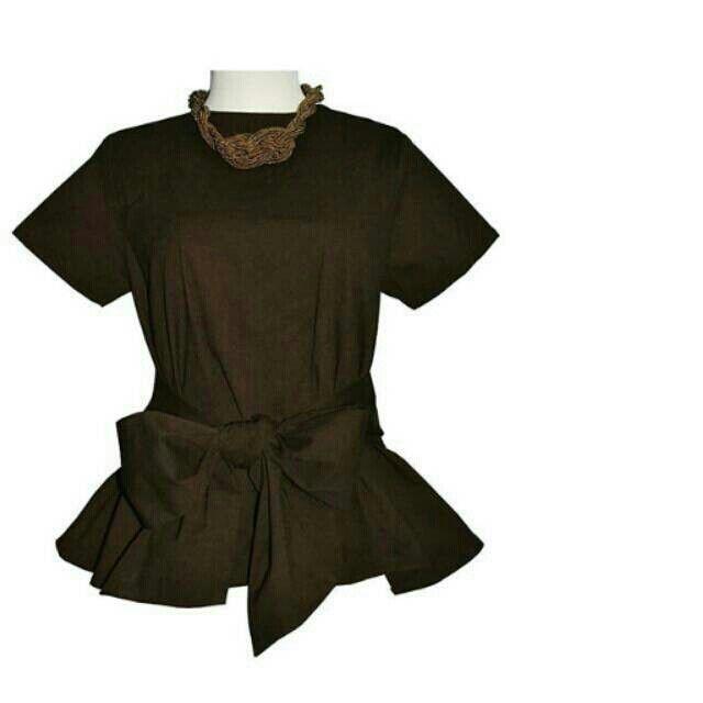 Saya menjual Brown Bow Top seharga Rp169.000. Dapatkan produk ini hanya di Shopee! http://shopee.co.id/yaskey_house/2621221 #ShopeeID