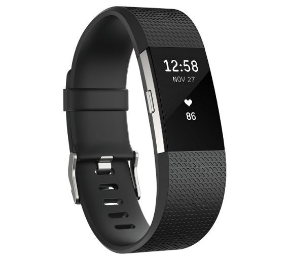 Buy Fitbit Charge 2 Heart Rate + Fitness Band Black - Small at Argos.co.uk - Your Online Shop for Fitness and activity trackers, Fitness technology, Fitness equipment, Sports and leisure.