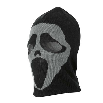Health Goth // Rebel Sport / Arctic Star Scream/Skull Reversible Men's Balaclava
