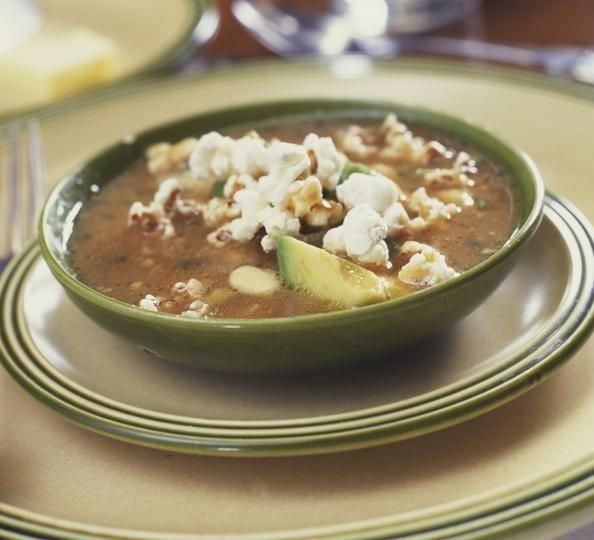 LUNCH: Chicken-Avocado Soup