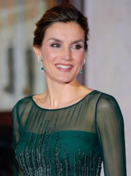 S.M.R Letizia of Spain: Queen Letizia arrives at the Palácio Das Necessidades to attend a dinner hosted by Portuguese Prime Minister, António Costa. Lisboa, 29.11.2016.