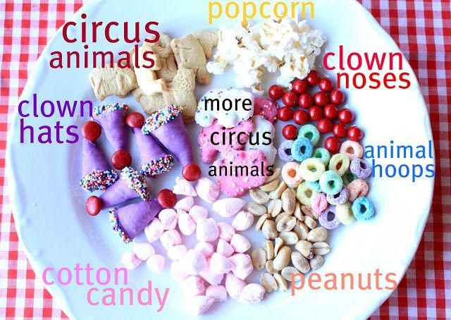 Munchkin Munchies: Circus Snack Mix & Clown Nose Cookie Pop