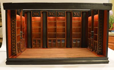 Dollhouse Miniature 1 12 Scale Libaray Or Book Store Room