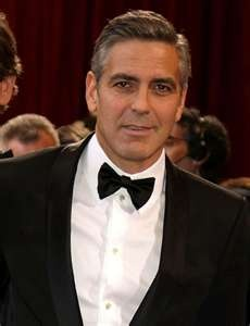 """George Clooney """"Like a fine wine"""" """"Or a fine cheese since we've never had wine"""""""