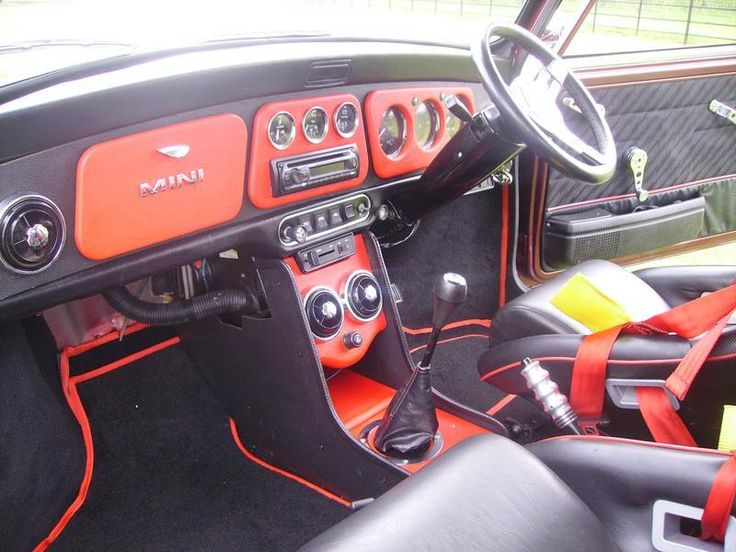 Old Mini Cooper Interior - Google Search