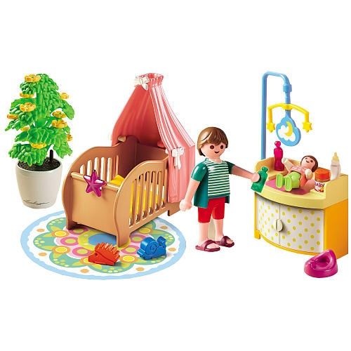 """Playmobil Baby Room With Mobile - Playmobil - Toys """"R"""" Us"""