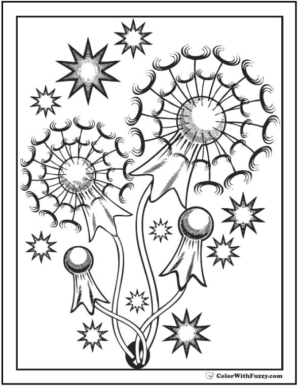 coloring pages get patriotic with fuzzy 39 s fourth of july coloring