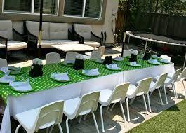 Green theme party ideas