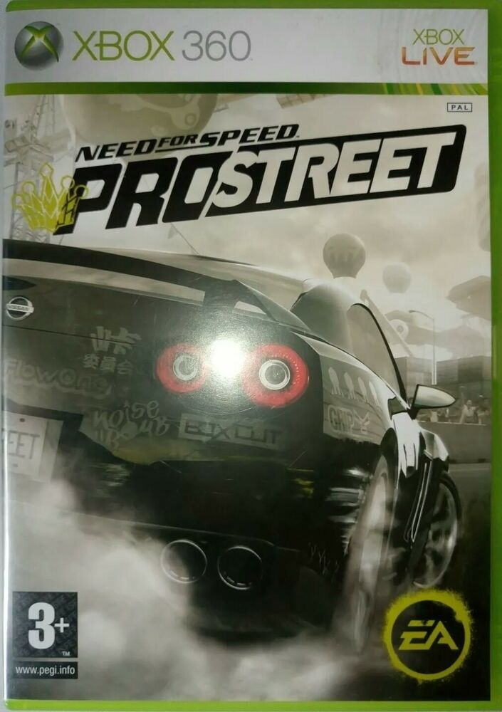 Need For Speed Prostreet Xbox 360 Electronicarts Need For Speed Prostreet Need For Speed Xbox 360