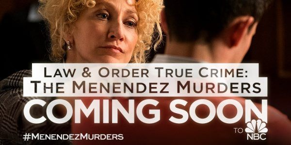 Law & Order True Crime (NBC-Fall 2017) a drama true crime anthology series created by Dick Wolf focusing on a different subject each season. The first cast centers on Lyle and Erik Menendez. The series researches  the story of the brothers who were convicted of murdering their parents and sentenced to life imprisonment without parole in 1996, Stars: Eddie Falco,  Sterling Beaumon, Edie Falco, Constance Marie.