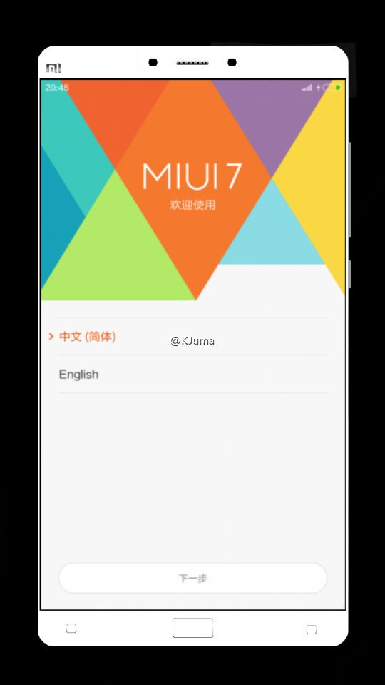 Xiaomi Mi Note 2 Might have dual camera and fingerprint scanner