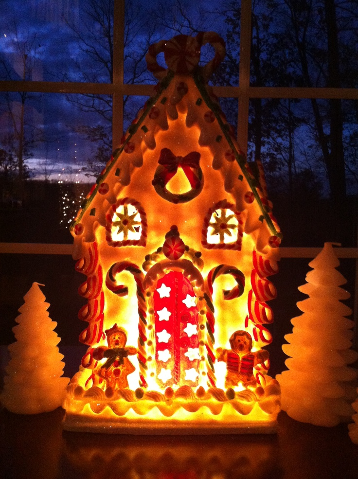 Gingerbread House From Cracker Barrel My New Favorite