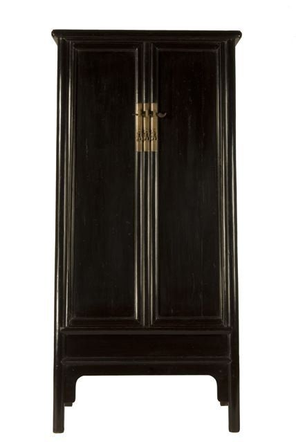The Humble House :. Antique Chinese Furniture .: Ming Style Linen Cabinet with Pihui Finish.   ;)