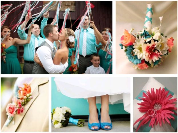 Coral And Turquoise Wedding: Best 25+ Turquoise Coral Weddings Ideas On Pinterest