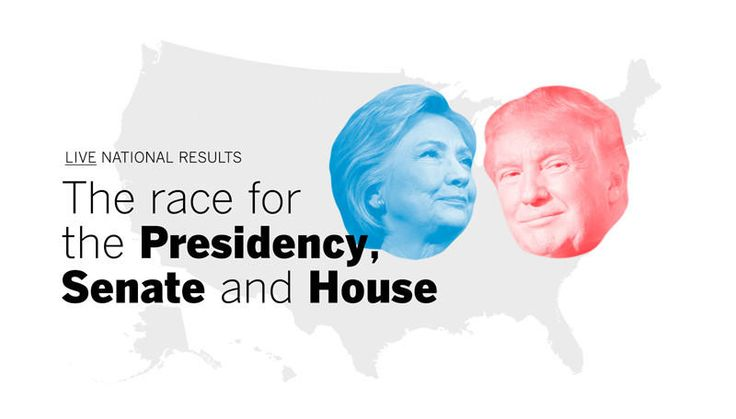 Explore the returns from the 2016 U.S. general election.
