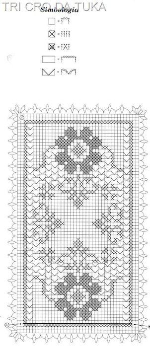 Caminho de mesa floral.