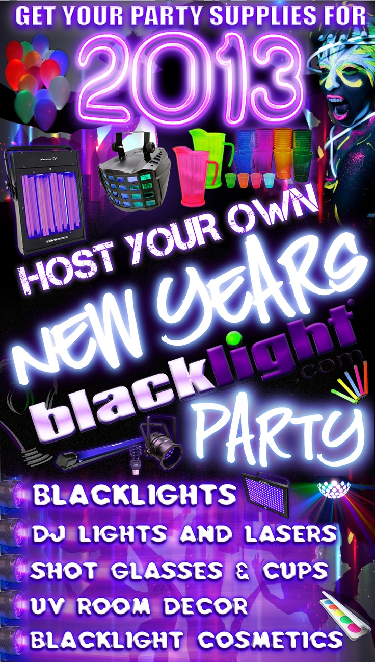 glowing decor food blacklight guide the ultimate black ideas a throw light glow how party lighting to