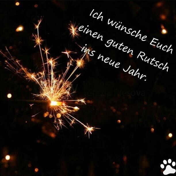 WГјnsche Euch Einen Guten Rutsch Ins Neue Jahr