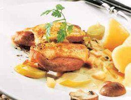 Emmentaler Schnitzel mit wenig Kalorien