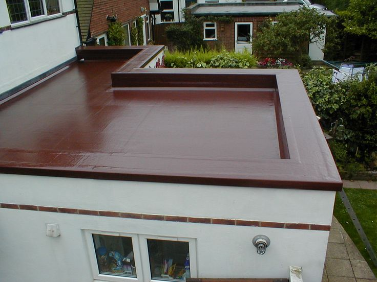 Flat roof materials plastic roofing pinterest flat for Garage roofing options