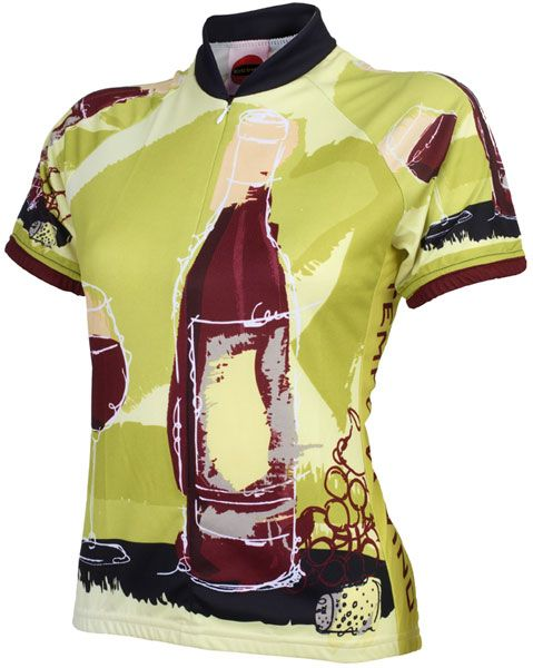 World Jerseys Tempo Di Vino Womens Cycling Jersey