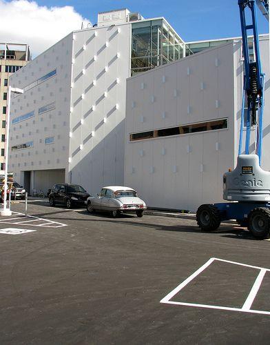 University of Winnipeg Buhler Centre Parking Lot