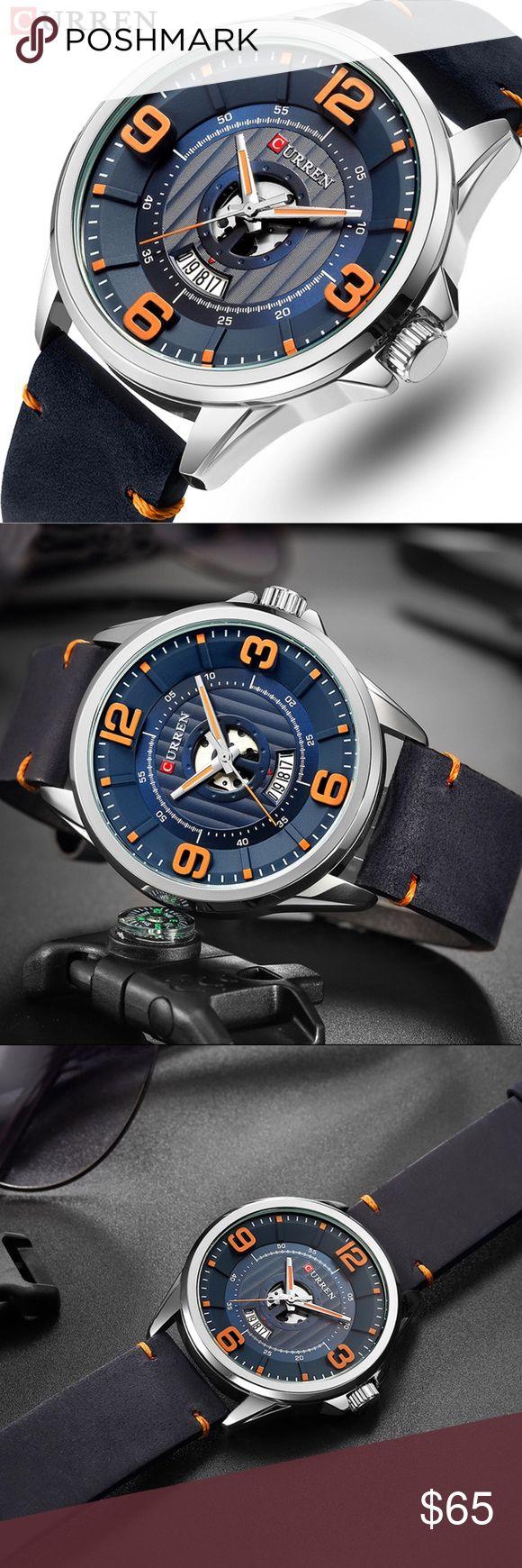Relógio esportivo para homens Curren Marca de moda Relógio esportivo resistente à água (30 m) …   – My Posh Picks