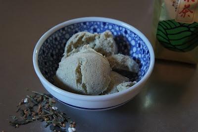Green tea ice cream- Thermomix