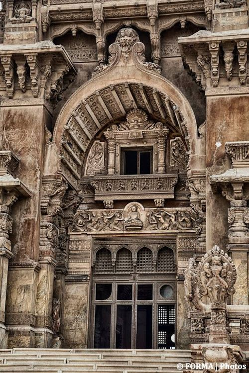 Details From The Facade Of Baron Empian's Fascinating Palace ...Heliopolis