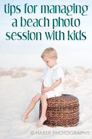 Smocked Auctions: Tips for Managing a Beach Photo Session with Kids
