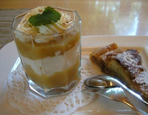 Apfel-Tiramisu mit Mascarpone-Creme - Rezept - ichkoche.at
