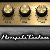 AmpliTube for iPad  By IK Multimedia    NEW GEAR MODELS FOR IN-APP PURCHASE FROM SOLDANO, AMPEG, T-REX AND MORE...
