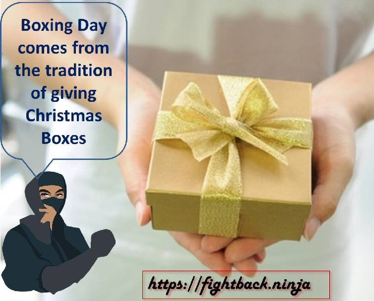 What's the origin of Boxing Day?