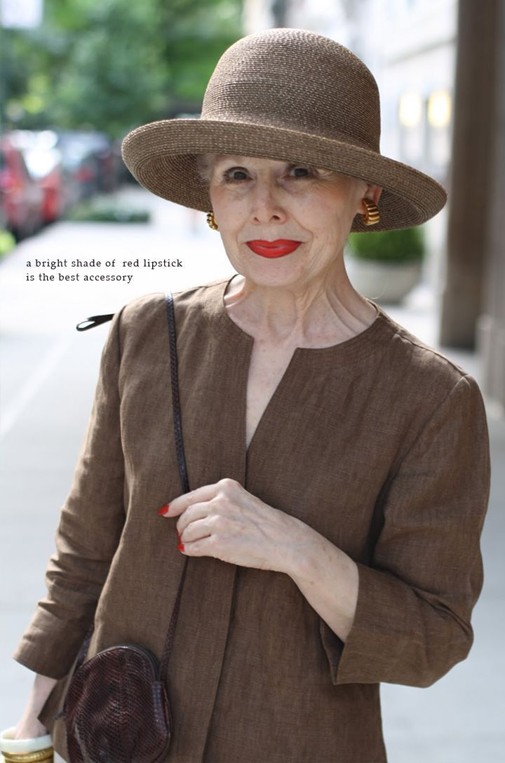 fabulous fashion for women over 55 | Found on 79ideas.org