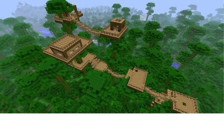 I Love The Jungle Biome Now!! Such A Good Idea Minecraft Ideas