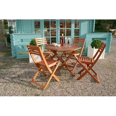 Newbury 4 Seater Dining Set. Wooden Garden FurnitureWooden ...