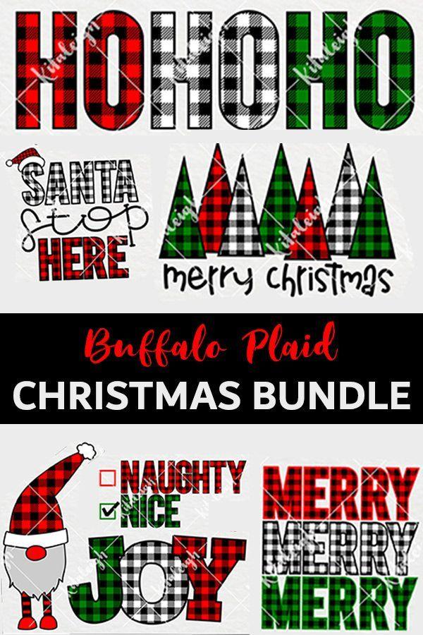 Download Buffalo Plaid Christmas Bundle Svg 160238 Illustrations Design Bundles Buffalo Plaid Christmas Plaid Christmas Christmas Bundle