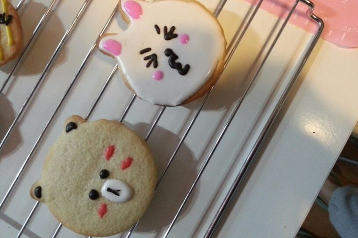 Handmade line cookies