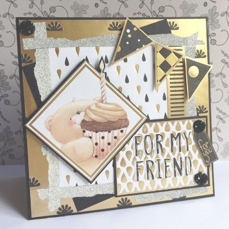 Handmade Card for a Friend | Forever Friends | docrafts.com