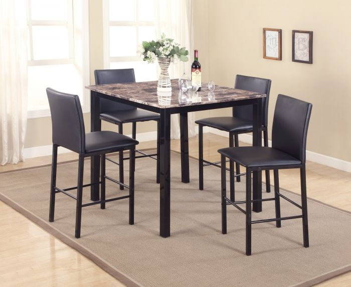 Faux Marble Top Pub Table And 4 Stools By Bella Esprit. Get Your Faux  Marble Top Pub Table And 4 Stools At Price Busters Furniture, Baltimore MD  Furniture ...