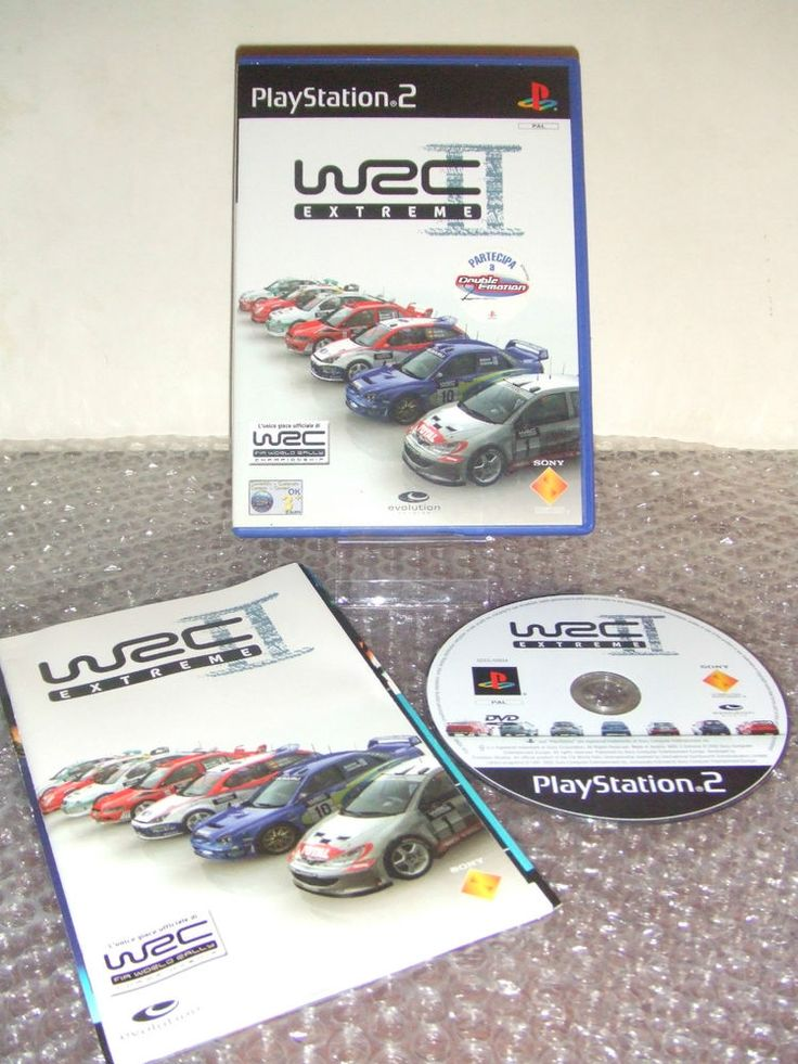 WRC II EXTREME - PS2 ps3 playstation - ITA - Ottimo