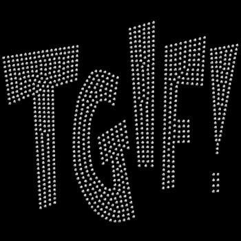 Thank Goodness It's Friday Rhinestone by BlingnPrintStreet on Etsy